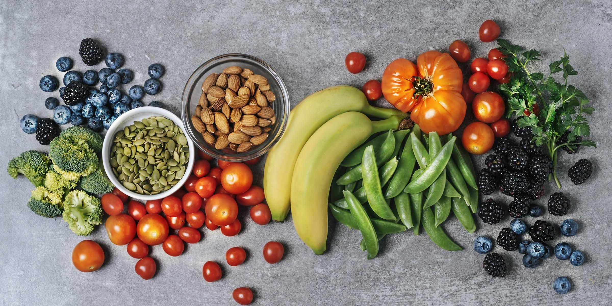 健康食品 健康的な 食事