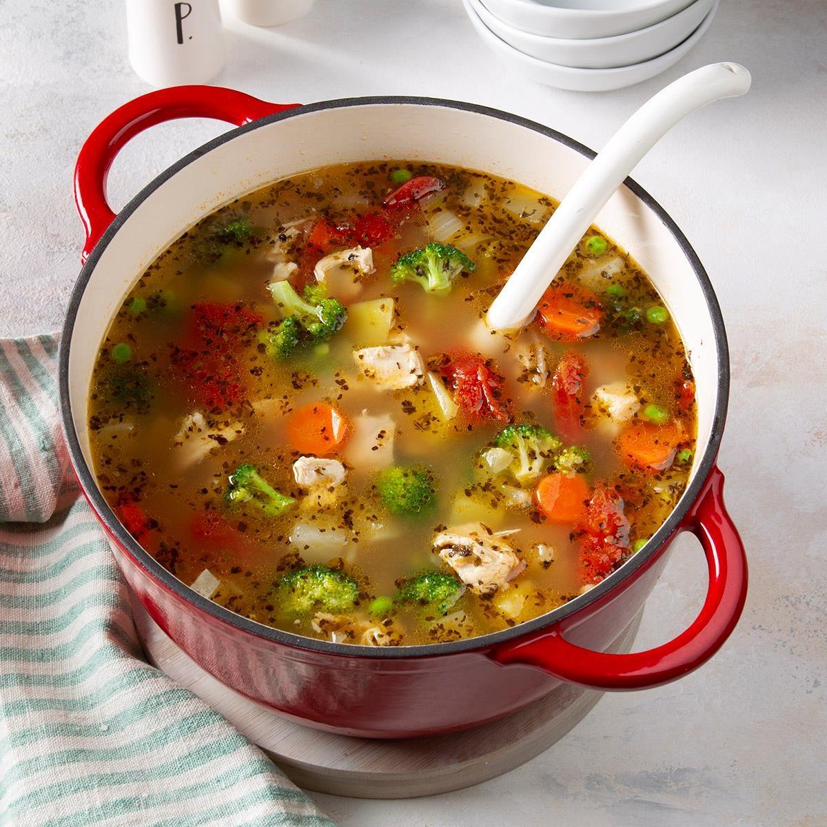 ヘルシーな自家製野菜スープレシピ