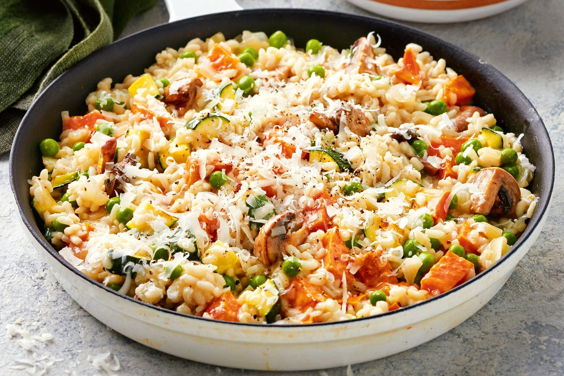 ご飯と葉もの野菜を使ったヘルシーレシピ